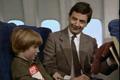 Мистер Бин в самолете
